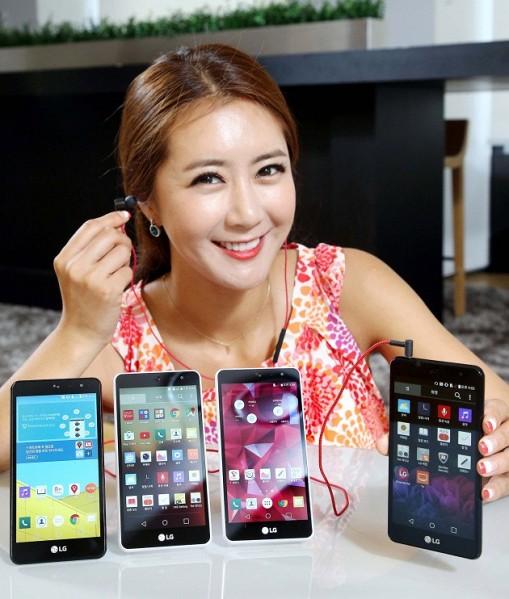LG представила музыкальный смартфон