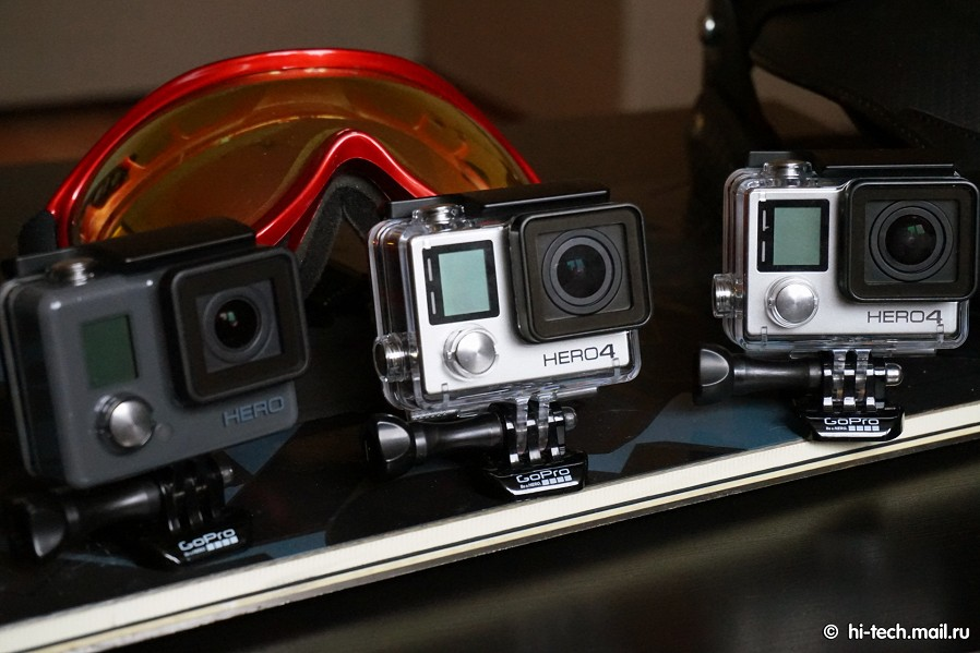 Gopro hero 4 главные экшн камеры
