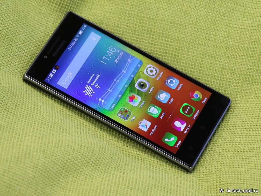 Обзор lenovo p70 смартфон работающий до 34