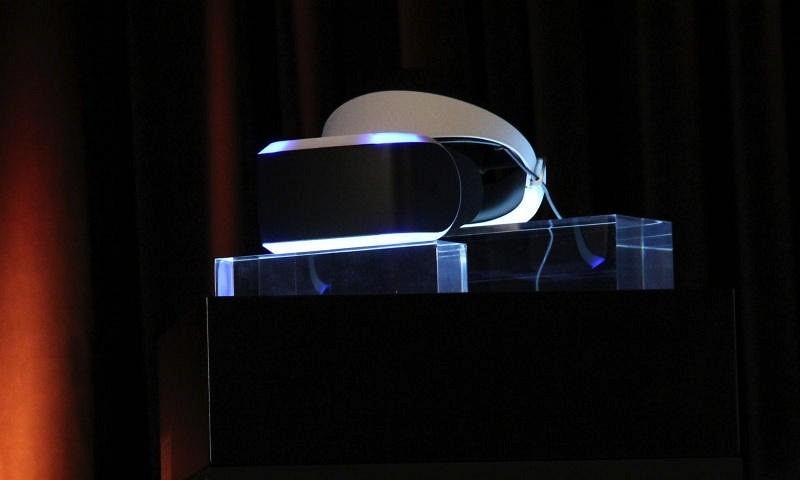 Project Morpheus — очки виртуальной реальности для Sony PlayStation 4