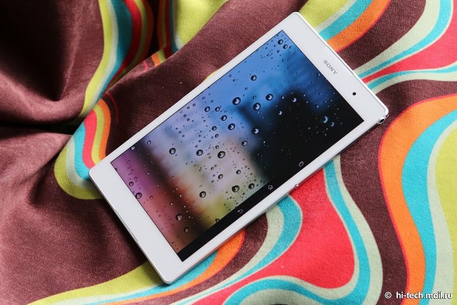Обзор sony xperia z3 tablet compact мощный