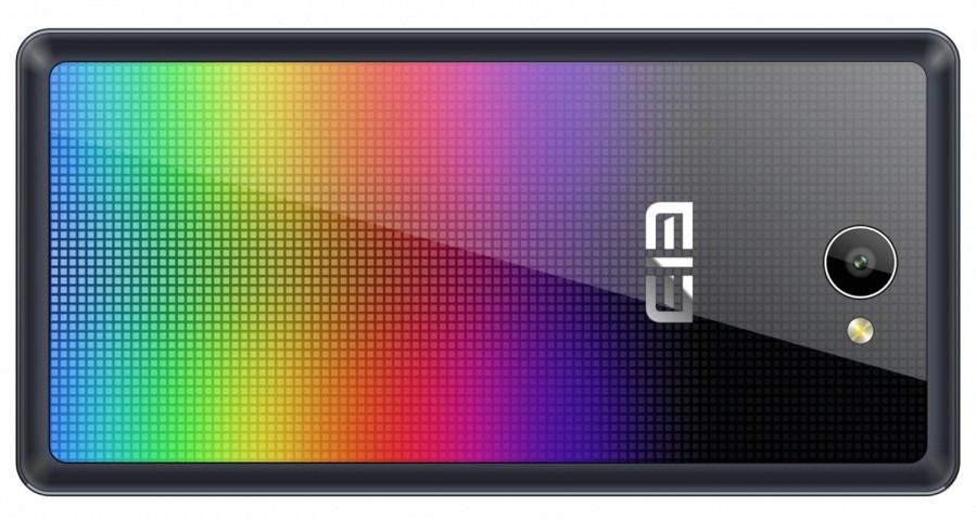 Необычный смартфон с аппаратным визуализатором звука