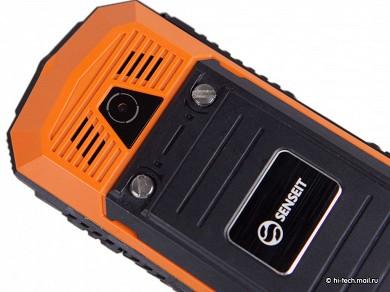 Обзор защищенного телефона senseit p10