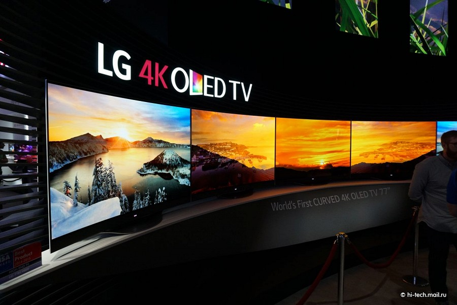lcd televisions lg at ifa 2014 a family of oled tv ultra hd updated with 65 and 77 inches. Black Bedroom Furniture Sets. Home Design Ideas