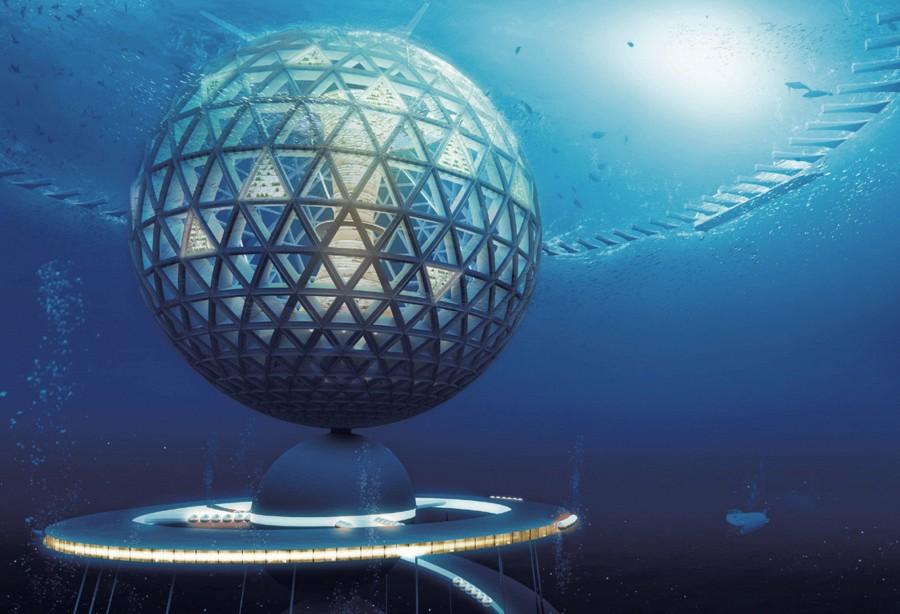 Япония будет строить подводный город