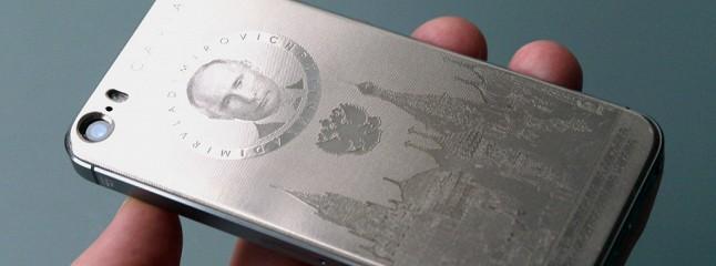 Видео титановый iphone с портретом