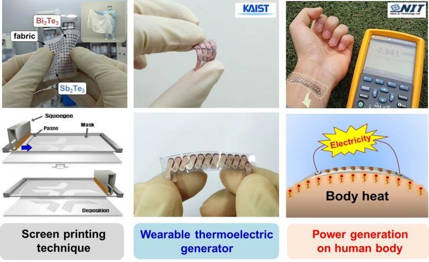 Миниатюрный термоэлектрический генератор. Заряжаем смартфоны кожей! 3