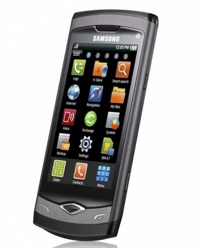 Samsung S8500 Wave (Handy) .