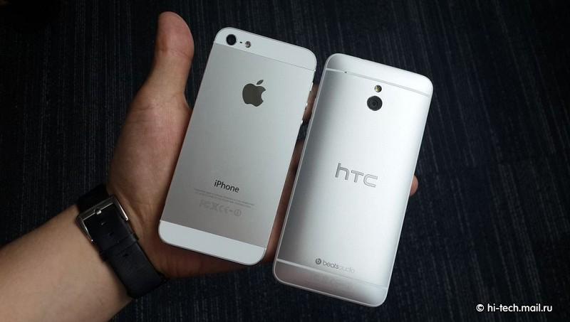 Обзор смартфона htc one mini маленький