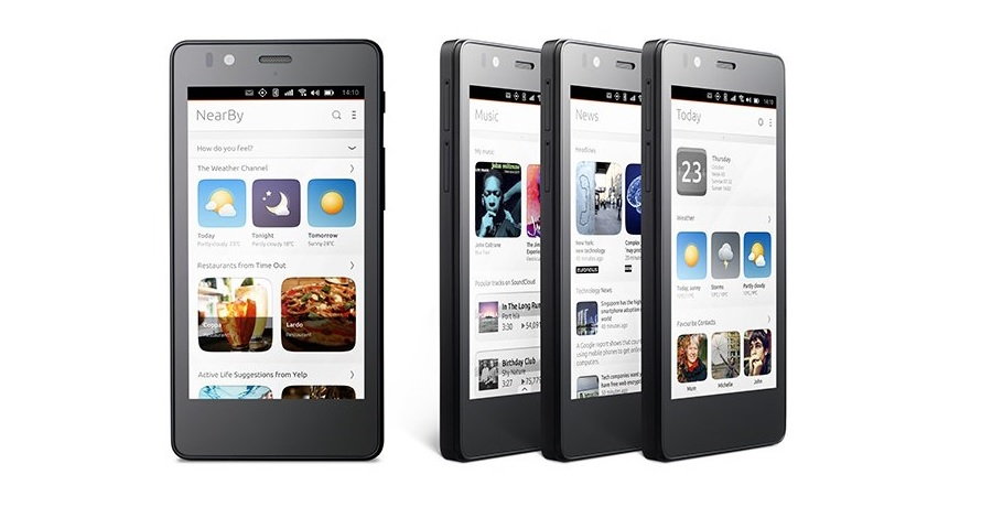 Официально: BQ Aquarius E4.5 - первый в мире смартфон с Ubuntu