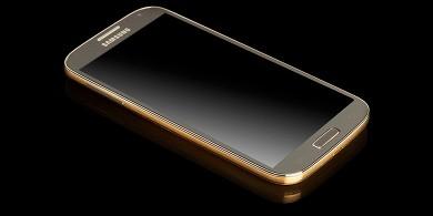 Золотой и платиновый Samsung Galaxy S4