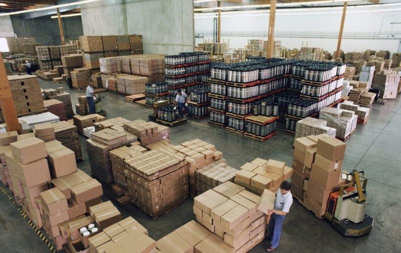 Заказы на складе