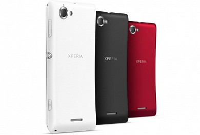 Xperia l работает под управлением android 4 1 2