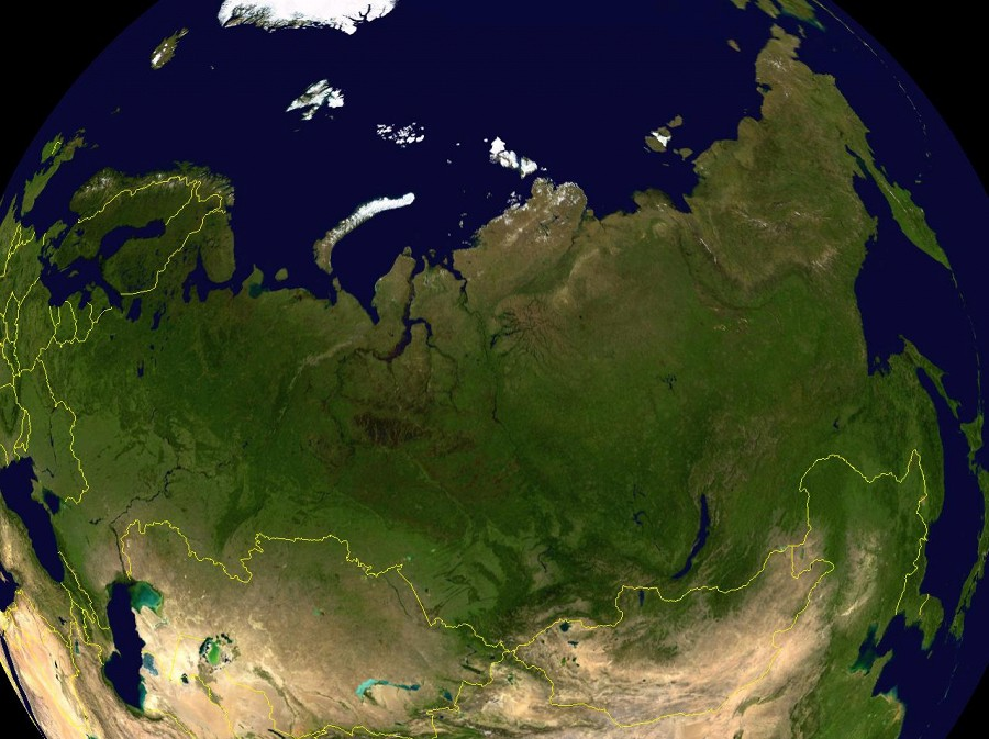 видим, россия из космоса фото высокого разрешения для