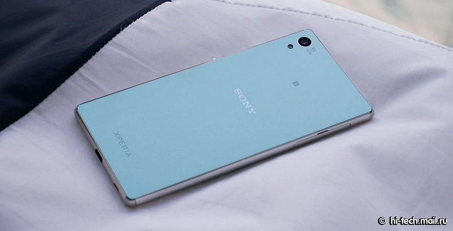 В России стартовали продажи Sony Xperia Z3+