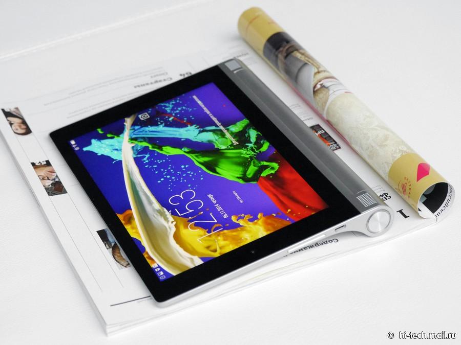 Обзор Lenovo YOGA Tablet 2: металлический планшет-трансформер