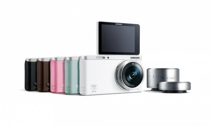 Сверхкомпактная беззеркальная камера Samsung NX mini