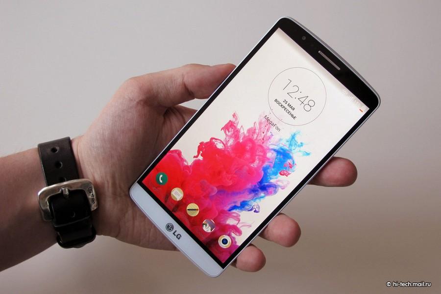 LG G3 может стать первым смартфоном, который обновится до Android 5.0 Lollipop