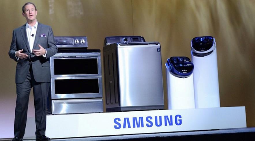 SAMSUNG  представила стиральную машину