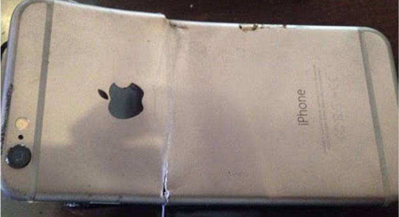 iPhone 6 взорвался и чудом не изувечил владельца