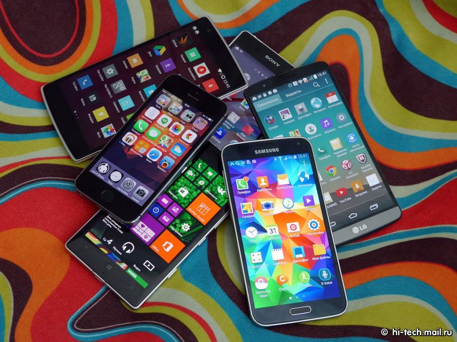 Сколько москвичей пользуется смартфонами?