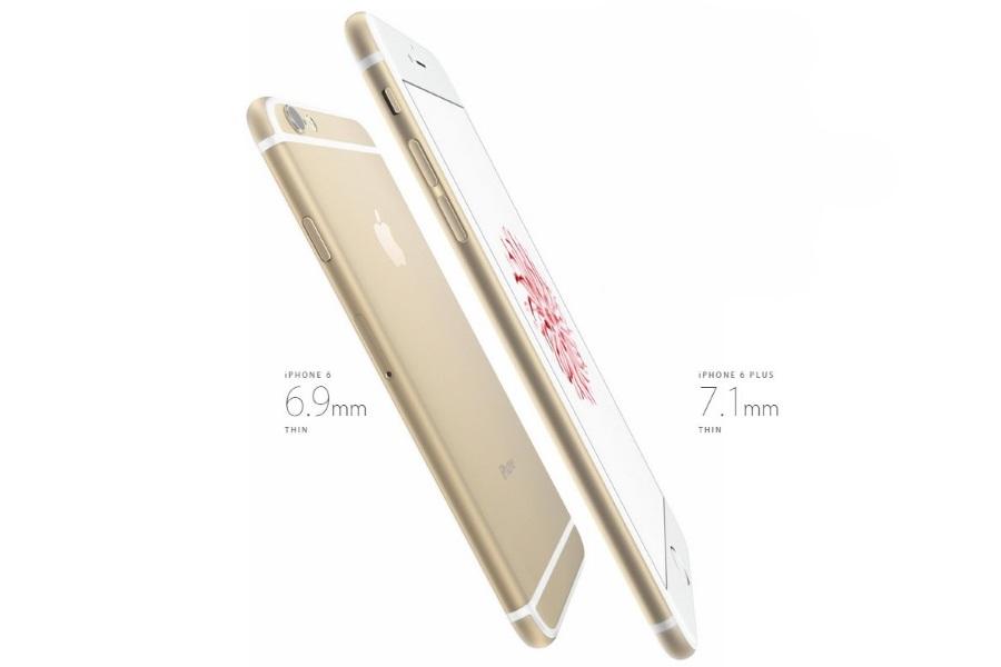 Габаритные размеры Apple iPhone 6 и iPhone 6 Plus
