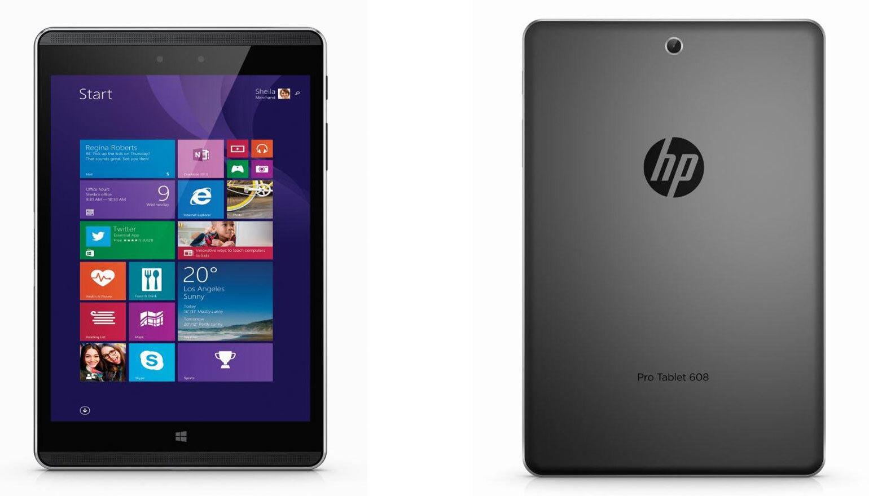 Планшет HP Pro Tablet 608 на Windows 10