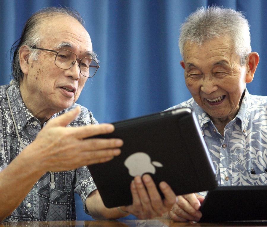 Планшеты Apple iPad в подарок пенсионерам